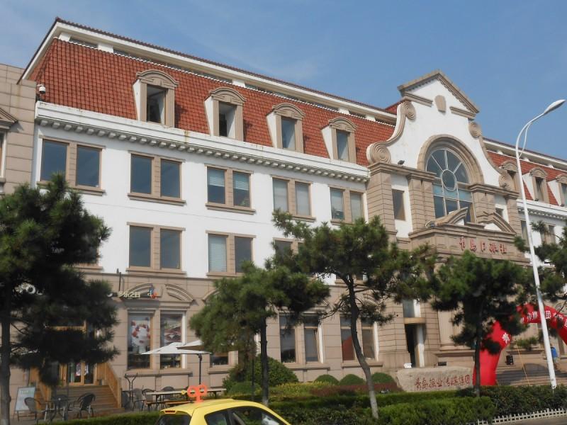 칭다오 시내 독일 건물